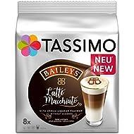 Tassimo Latte Machiatto Baileys Coffee Capsules, Pack of 5