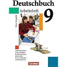 Deutschbuch Gymnasium - Allgemeine Ausgabe: 9. Schuljahr - Abschlussband 5-jährige Sekundarstufe I - Arbeitsheft mit Lösungen