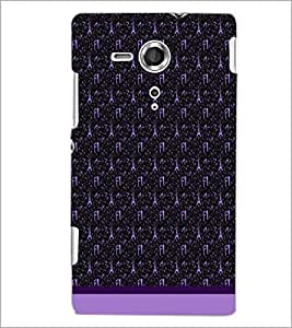 PrintDhaba Tower Pattern D-1801 Back Case Cover for SONY XPERIA SP (Multi-Coloured)