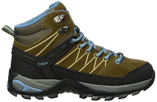 C.P.M. Rigel, Chaussures de Trekking et Randonn&EacuteE Femme Marron - Braun (Wood P891)