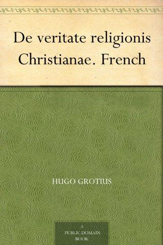 Couverture du livre De veritate religionis Christianae. French