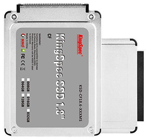 256GB KingSpec IDE da 1,8 pollici CF 50 pin SSD Solid State Disk (MLC)