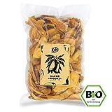Getrocknete Mango Sorte Brooks ● Trockenfrüchte Ohne Zuckerzusatz ● Schwefelfrei ● Besonders Aromatisch ● Aus Burkina Faso ● 1 kg Packung ● KoRo