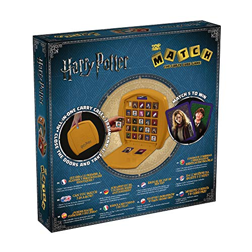 51DalvpNWOL - Trumps-10469/01724 Top Trumps Match Harry Potter, Multicolor (Winning Moves 001724)