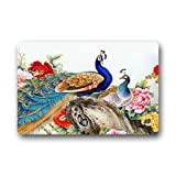 Dalliy pfau Fu?matten Doormat Outdoor Indoor 18