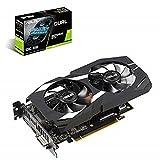 ASUS NVIDIA GeForce GTX 1660 Ti DUAL OC 6G Gaming Grafikkarte (PCIe 3.0, 6GB DDR6 Speicher, HDMI, DVI, Displayport)