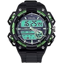 Daesar Reloj de Doble Pantalla Reloj Hombre Moda Relojes Electronicos Reloj Deporte al Aire Libre Reloj