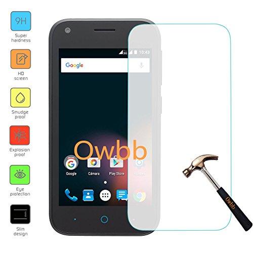 Owbb gehärtetes Glas Display schutzfolie Für ZTE Blade L110 (4.0 zoll) Smartphone Explosionsgeschützter Film