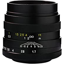 Mitakon 24mm f/1.7 Standard-Prime Lens for Fujifilm X Cameras