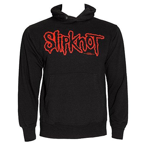 Slipknot Felpa Con Cappuccio Con Logo (Nero) - Large