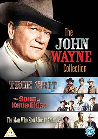 The John Wayne Collection (True Grit/ Sons of Katie Elder/ Man Who Shot Liberty Valance) [Import anglais]
