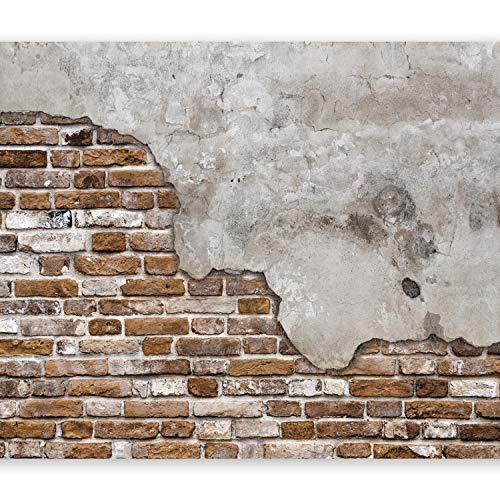 murando - Fototapete 400x280 cm - Vlies Tapete - Moderne Wanddeko - Design Tapete - Wandtapete - Wand Dekoration - Ziegel Beton f-B-0083-a-d
