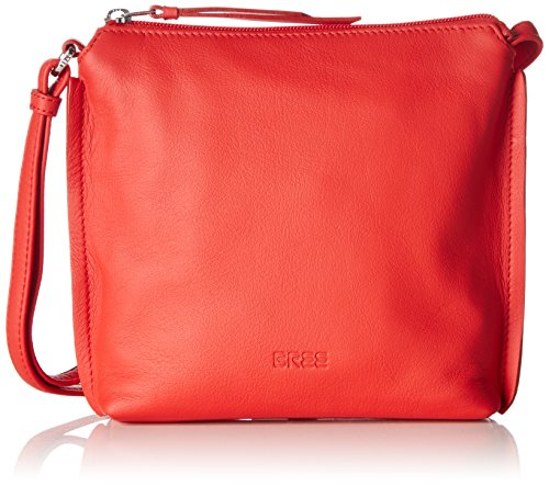 Bree Toulouse 1, Dark Brown, Cross Shoulder S, Sacs bandoulière Femme Rouge - Rot (red 151)