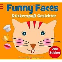 Funny Faces: Stickerspaß Gesichter