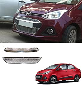 Auto Pearl - Chrome Plated Front Grill For - Hyundai Xcent