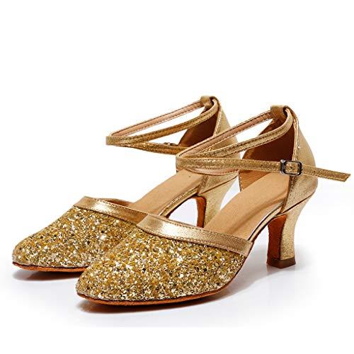 TMOTYE Damen Sandalen, 2019 Damen Sommer Latin Dance Gesellschaftstanz Schuhe Weichen Boden Walzer Tanzschuhe Sandalen, Vielseitig Und Komfortabel - Flare Kicker