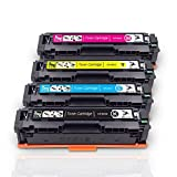 Fituwork Compatible pour HP 201X CF400X CF403X CF402X CF401X Cartouches de Toner pour...