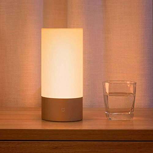 Xiaomi Yeelight intelligente Lampada da Letto , OLLIVAN Letto Luce Wi-Fi / Wireless Touch Control LED Night lampada da notte 16 Milioni di Controllo RGB Touch per Smartphone- Upgraded Version