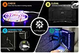LED TV Hintergrundbeleuchtung 2m Kit Für 40-60 Zoll TV,Pangton Villa RGB 5050 led Strip mit Fernbedienung Usb TV Beleuchtung - 3