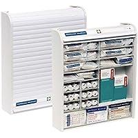 Verbandschrank Rollmed®, Betriebs-Verbandschrank,weiß, befüllt mit DIN 13157 preisvergleich bei billige-tabletten.eu