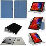 GearIT Galaxy Tab Pro/Note Pro 12,2–360Gira con paisaje, retrato, función atril tipo libro para azul azul oscuro Galaxy Note Pro 12.2