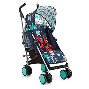 Cosatto Supa Go 2018 Stroller, Suitable from Birth, Dragon Kingdom Julian Bowen Glamourous curved back for added comfort Modern walnut tapered legs Finished in a dusk grey chenille fabric, suitable for a range of décor 7