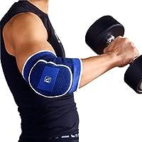 LiveUp Sport gomito Brace Supporto a compressione manica/supporto/brace migliore supporto per gomito del tennista, tendinite, gomito del golfista, Sollevamento pesi, artrite–Ridurre Joint Pain–Small (LS5703)
