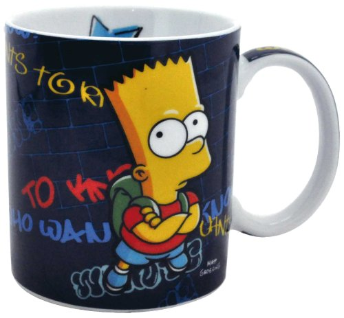 "The Simpsons - Tazza  Bart Simpson ""Who wants to know"""