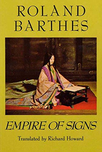 Empire of Signs por Roland Barthes