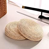 Esercizio Cuscino for sedia in paglia Cuscino for stuoia di yoga Cuscino for meditazione Zafu Yoga riempito con imbottitura in seta - Paglia, 45x45 cm Fitness ( Color : Corn Husk , Size : 30x30cm )