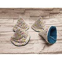 Lot de 4 tipi à pipi écologique collection Pop/bleu/cone à pipi/et réutilisables naissance cadeaux bébé T16