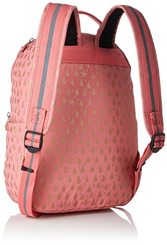 *Kipling Seoul Go S Sac à dos enfants, 35 cm, 8 liters, Rose (Pink Gold Drop) Prix