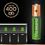 Duracell Recharge Plus Type AAA Batteries 750 mAh, Pack of 4
