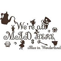 Suchergebnis Auf Amazon De Für Alice Im Wunderland Wandtattoos