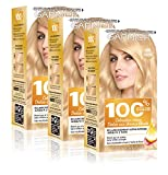 Garnier 100% Ultra Blond ACCESS Coloration Permanente 110 Le Super Eclaircissant - Lot de 3