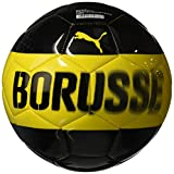 Puma Bvb Fan Ball, Cyber Yellow Black, 5