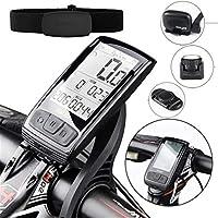 Accesorios bicicletas montaña La cadencia del sensor de velocidad del velocímetro for bicicletas bicicletas M4 inalámbrica Bluetooth equipo se puede conectar monitor de ritmo cardíaco cuenta km bicicl