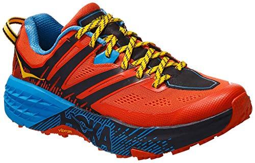 HOKA Speedgoat 3, Scarpe Trail-Running Uomo, Arancione (Nasturtium/SpicyOrange NSOR), 47 1/3 EU