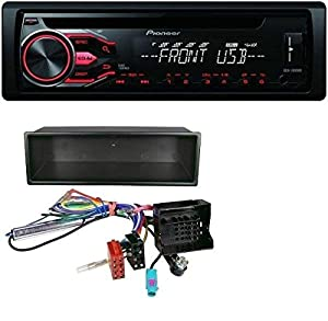 pioneer autoradio cd mp3 usb aux pour citro n c2 c3 jumpy peugeot 207 307 expert. Black Bedroom Furniture Sets. Home Design Ideas