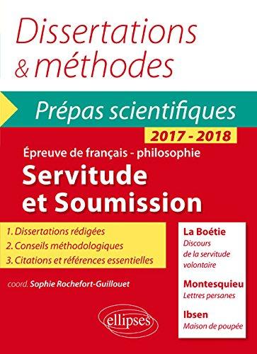 servitude-et-soumission-dissertations-methodes-prepas-scientifiques-2017-2018