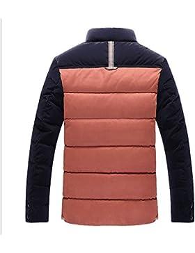 MHGAO Nuevo para la camisa de otoño / invierno de los hombres de Down Jacket , orange , xxl