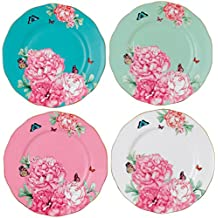 Miranda Kerr by Royal Albert dell'amicizia Accent piatti, multicolore, Set da 4