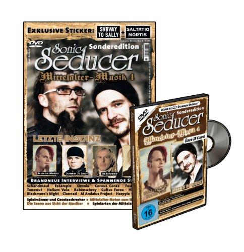 Sonic Seducer Sonderedition Mittelalter-Musik 4 + DVD mit über 25 Clips + 2 exkl. Sticker von Subway To Sally und Saltatio Mortis, Bands: Letzte ... Schandmaul, Corvus Corax, Tanzwut u.v.m.