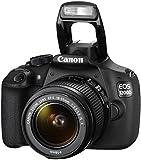Canon EOS 1200D SLR-Digitalkamera (18 Megapixel APS-C CMOS-Sensor, 7,5 cm (3 Zoll) LCD-Display, Full HD) Kit inkl. 18-55mm IS Objektiv schwarz - 8