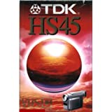 TDK 45HS - Cinta de audio/video (45 min)