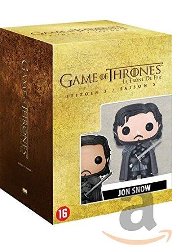 Preisvergleich Produktbild DVD - Game of thrones - Seizoen 5 incl. Funko poppetje (1 DVD)
