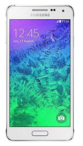 Preisvergleich Produktbild Samsung Galaxy Alpha Smartphone,  SIM Smartphone – parent,  weiß,  32 GB