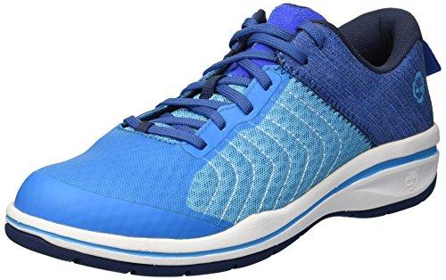 Timberland PRO Women s Healthcare Sport Soft Toe Health Care Professional Shoe  Blue  5 5 M US
