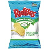 RUFFLES POTATO CHIPS SOUR CREAM & ONION 8.5 OZ by N/A