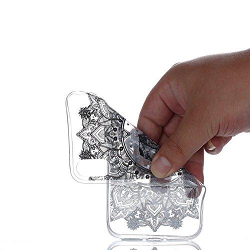 Slynmax Crystal Clear TPU Cover per iPhone X Custodia Silicone Caso Molle di Morbida Sottile Gel Transparent Bumper Case Protettiva Caso Chiaro Copertura Slim Thin Skin Shell Protezione per iPhone X S Modello #17